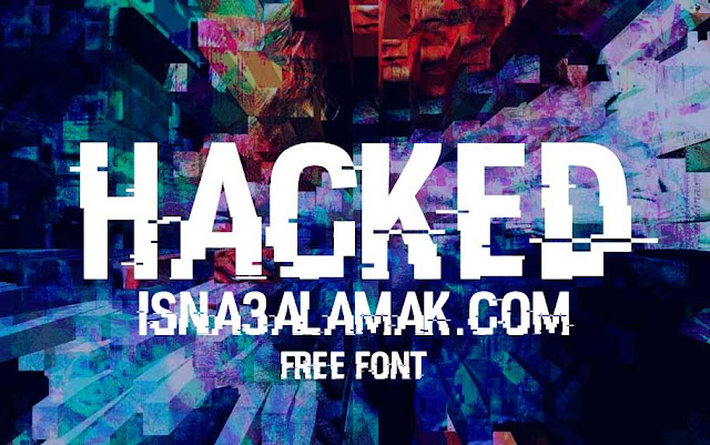 hacked font photoshop