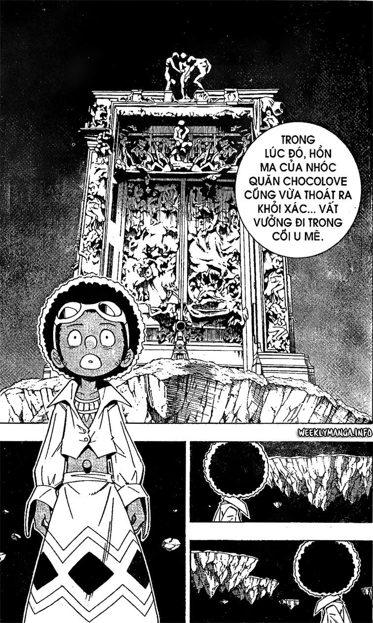 Shaman King [Vua pháp thuật] chap 194 trang 10