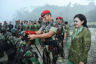 Kopassus Lahirkan 150 Prajurit Para Komando Muda