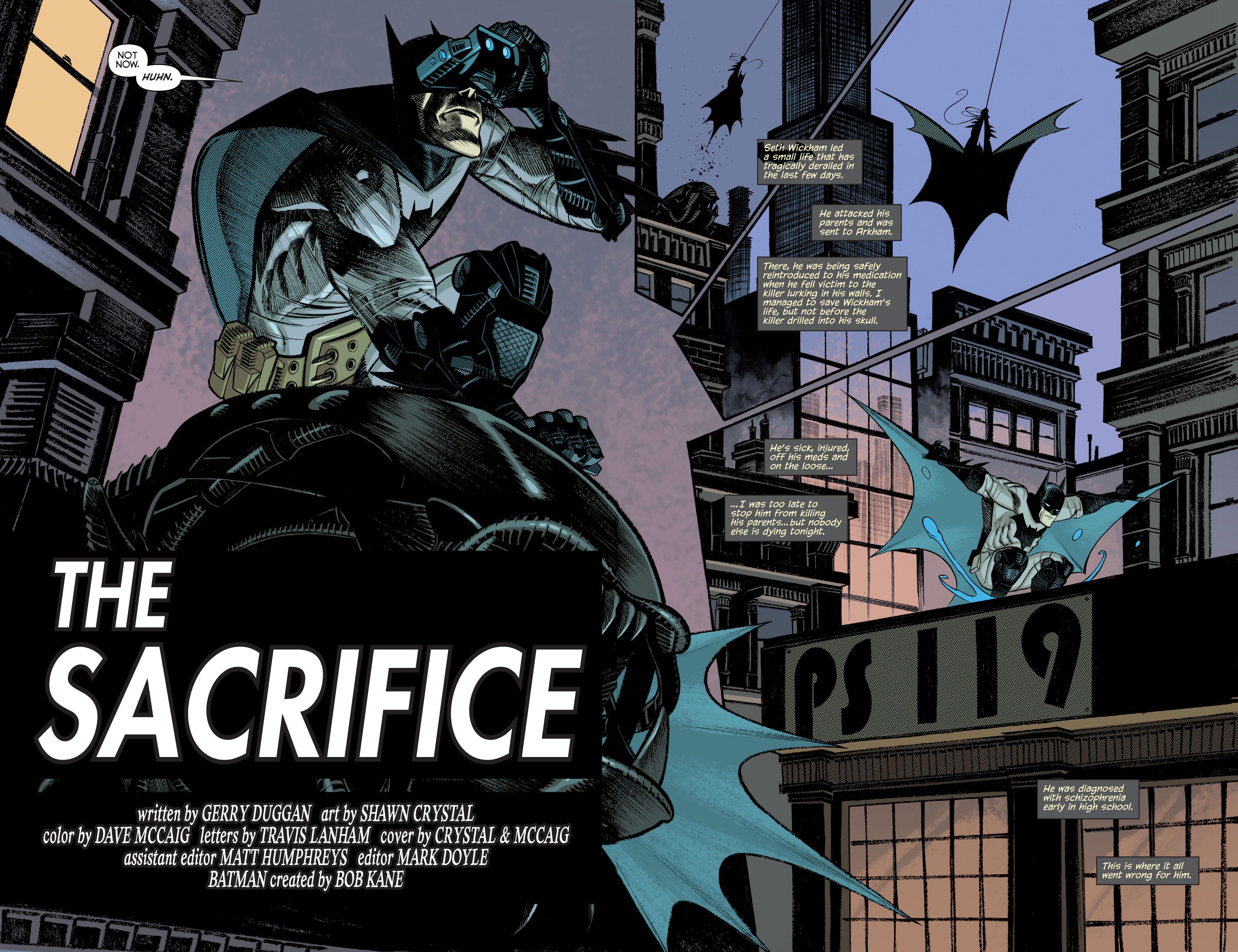 Read online Arkham Manor comic -  Issue #6 - 5