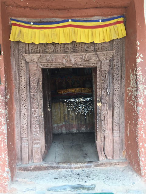 small doors in premises of Alchi Monastery