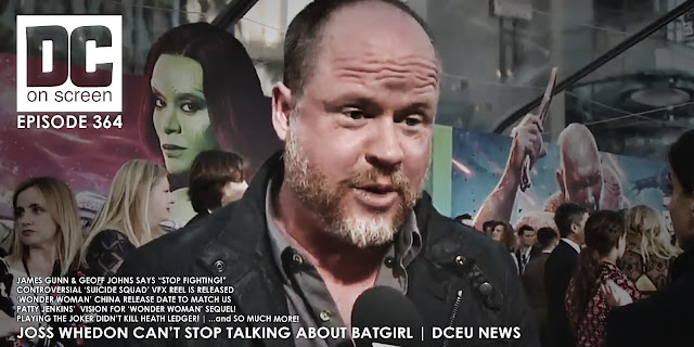 Joss whedon discusses Batgirl at the Guardians of the Galaxy Vol. 2 premiere