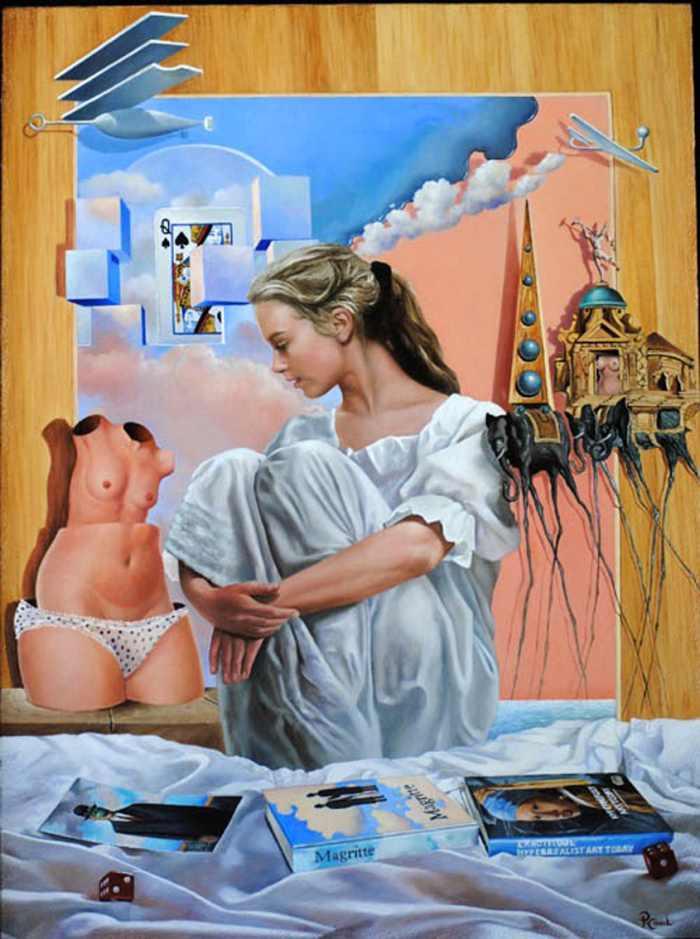 Бразильский художник. Paulo Cabral