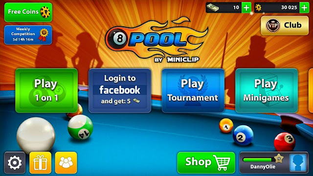 Game Billiard Offline Multi Player Hp Android 8 Ball Pool