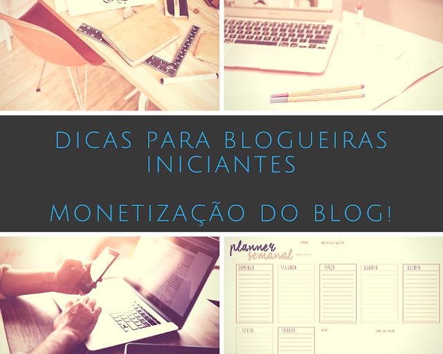 Monetização do blog