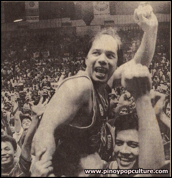 Robert Jaworski, Jaworski, Gordon's Gin Boars, champion, PBA, Philippine Basketball Association, PBA Commissioner's Cup, Commissioner's Cup