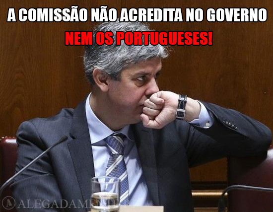 Imagem de Mário Centeno – A Comissão não acredita no Governo e os portugueses também não!