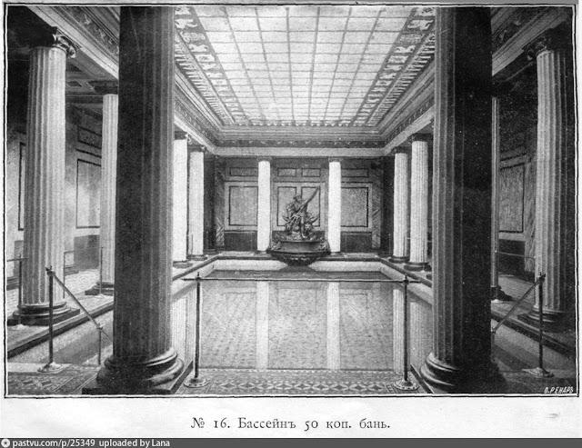 Неглинный проезд Сандуновские бани (1896)
