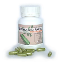 moringa powder in capsule form