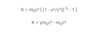 Energia cinetica relativista