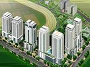 Phối cảnh tổng thể Kim Mã Building