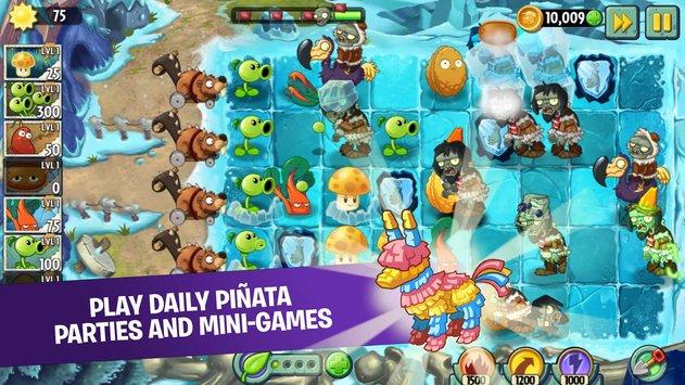 تحميل لعبة plants vs zombies 2 مهكرة اخر اصدار