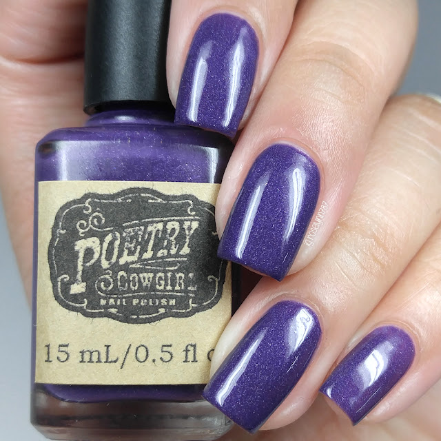 Poetry Cowgirl Nail Polish - Sexy Witch