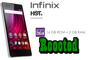 Root Infinix X510 Hot 2