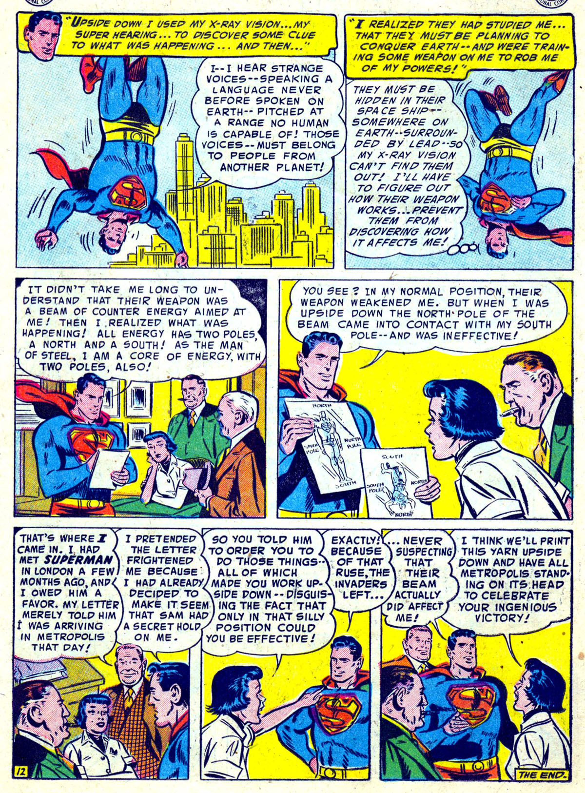 Read online Action Comics (1938) comic -  Issue #204 - 13