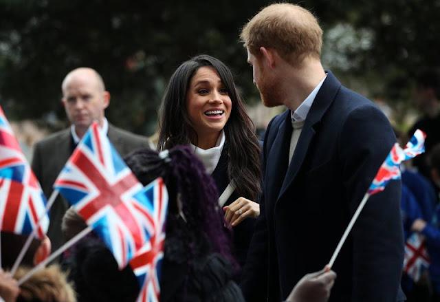 الأمير هاري وميجان ميركل يحتفلان باليوم العالمي للمرأة