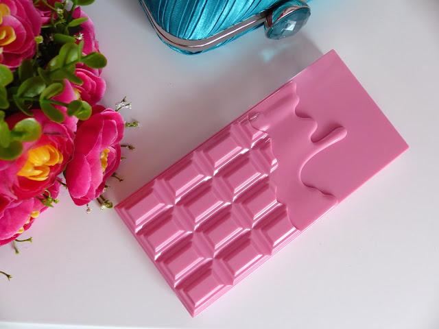 Recenzja Paletki Pink Fizz - Makeup Revolution