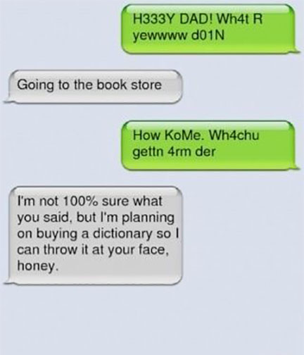 Funny Text Messages to Make You Laugh