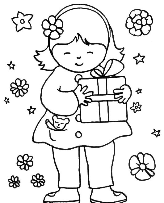 Family, People and Jobs Coloring Pages: Photos Kids To