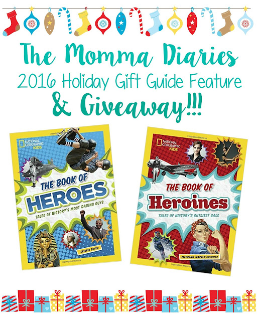 Giveaway, 2016 Holiday Gift Guide, Kids Books