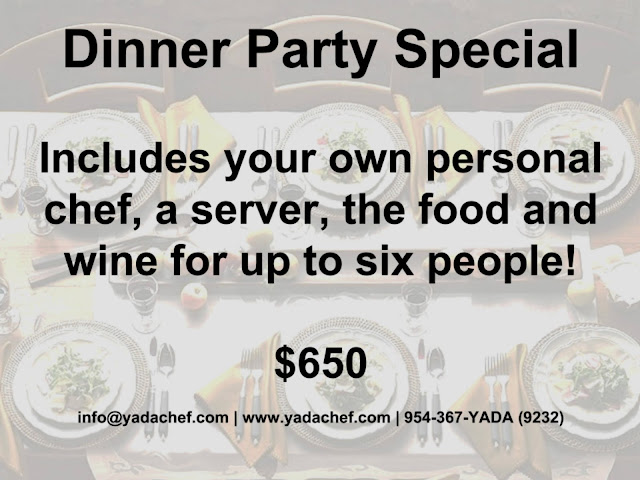 personal chef fort lauderdale
