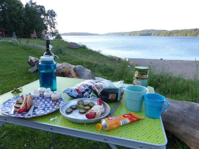 Camping Urlaub Roadtrip mit Hund Schweden Dalsland See