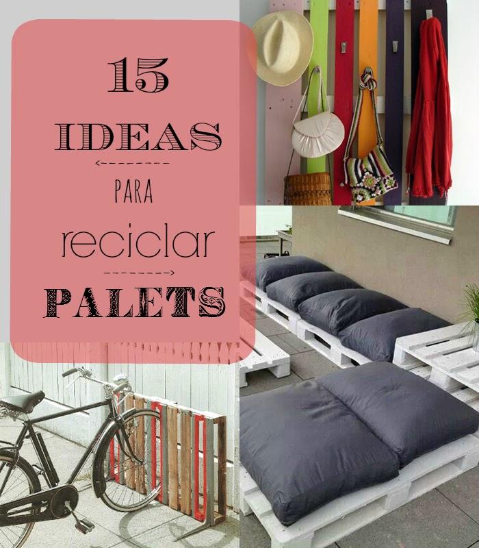 Ocupando Las Horas Diy 15 Manualidades Para Reciclar Palets De - Manualidades-palets