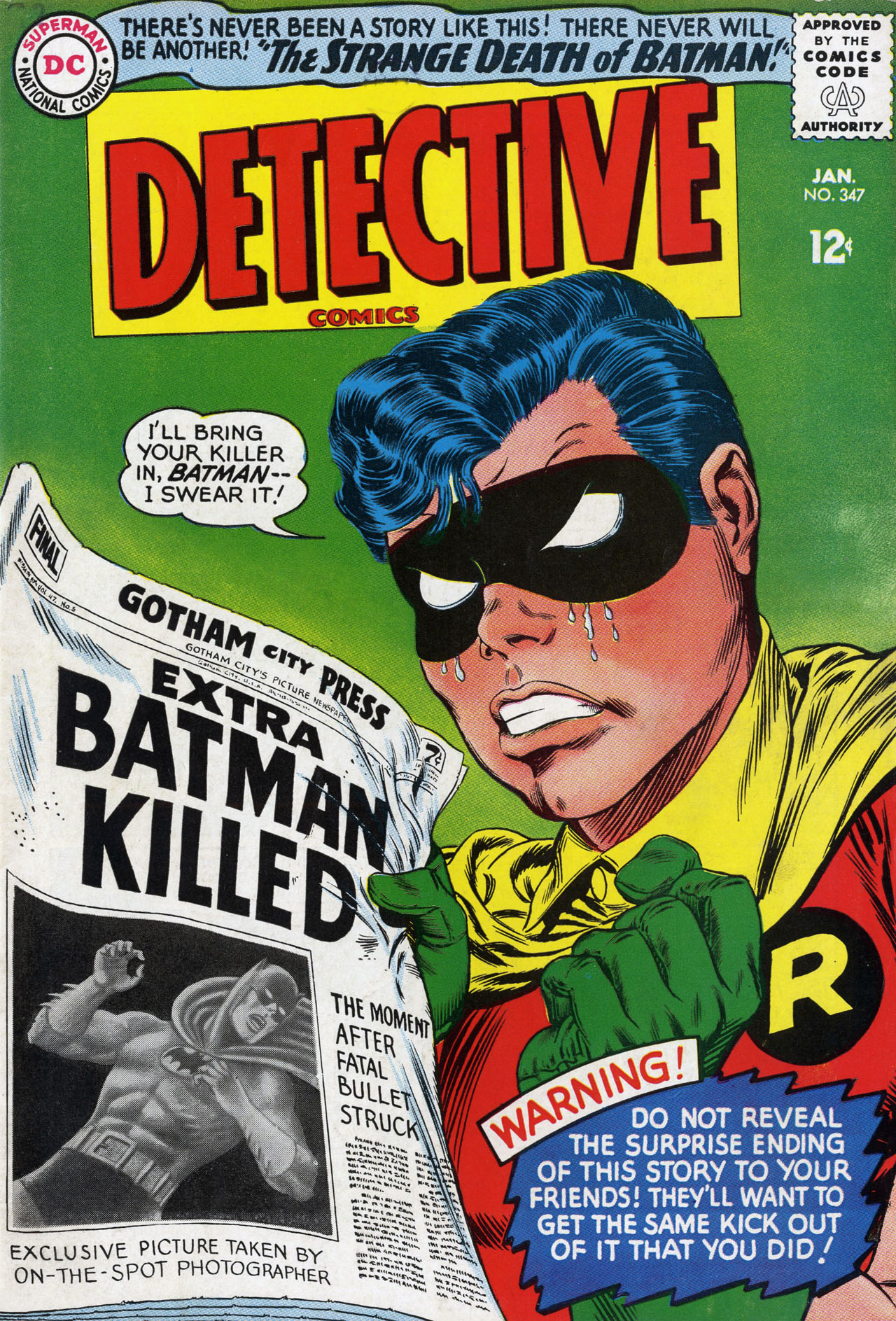 Detective Comics (1937) 347 Page 0