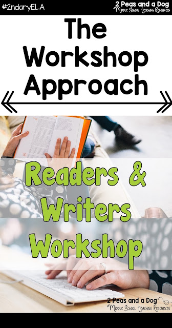 Integrating Readers and Writers Workshop into your ELA program will help with student engagement and make planning your lesson for more read this blog post by 2 Peas and a Dog.