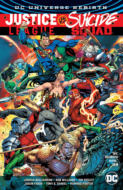 justice league vs suicide squad comic