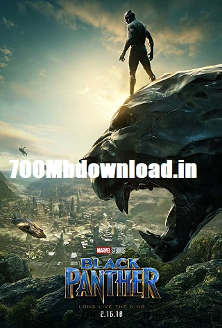 Black Panther 2018 Dual Audio ORG Hindi 450MB BluRay ESubs 480p