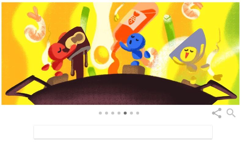 Foto Pad Thai Doodle Google