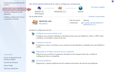 Averiguar claves WiFi combinando Android con Windows