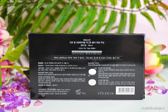 It's Skin It's Top Professional Magnet Blur Dual Cushion SPF35 PA+