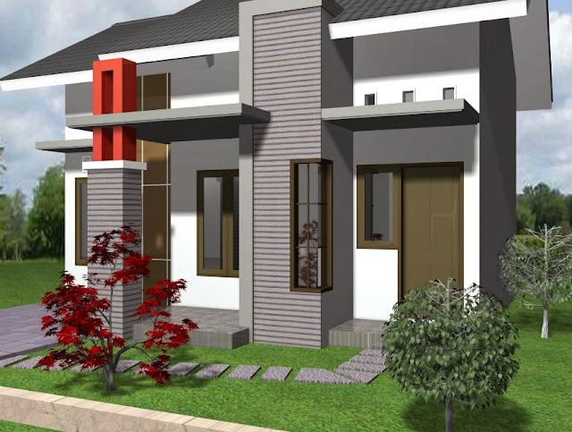 gambar rumah sederhana tapi menawan