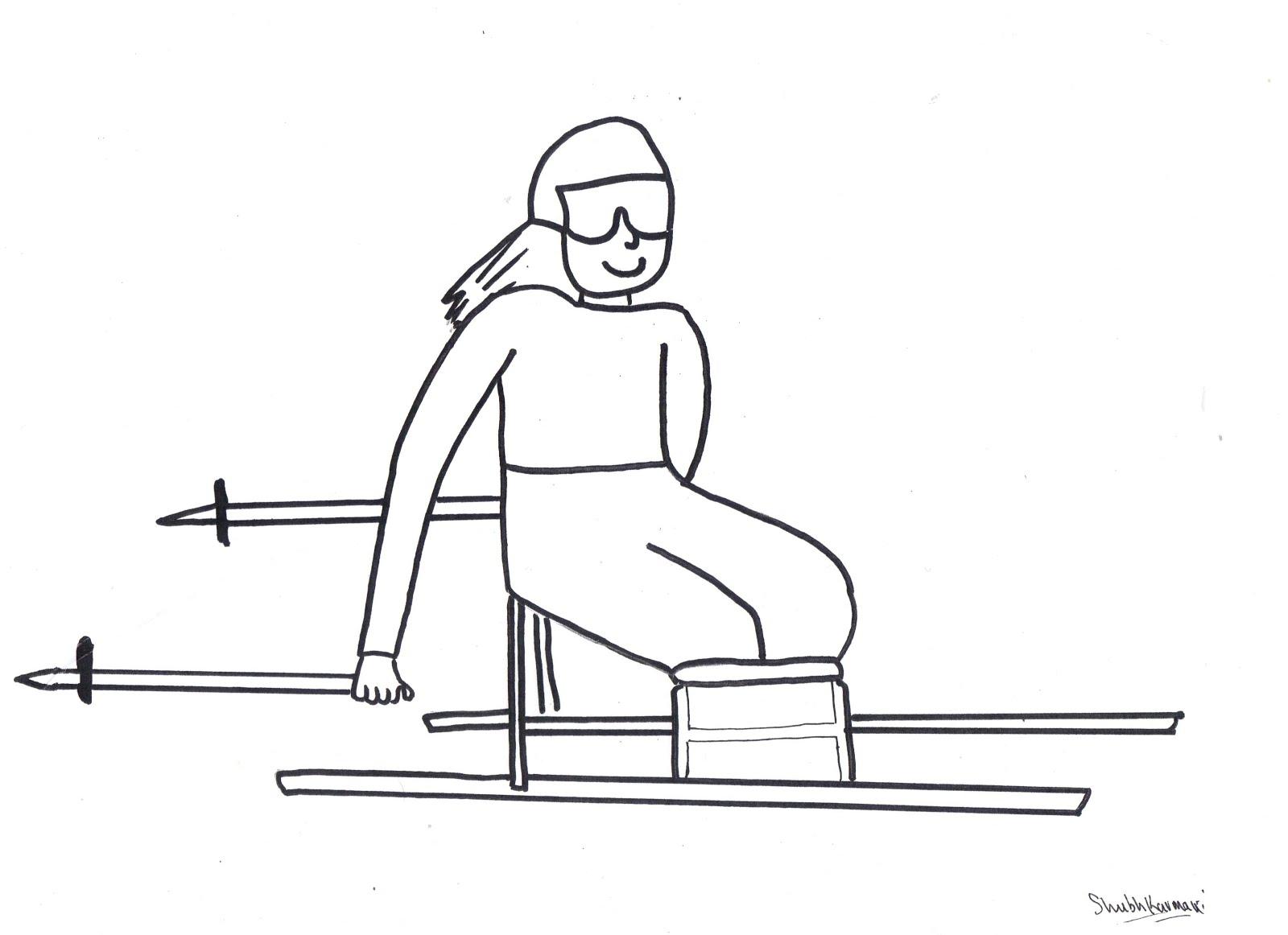 Desenhos Para Colorir E Imprimir Sobre Os Jogos Paraolimpicos So