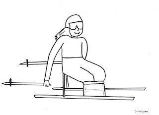 Desenhos para Colorir e Imprimir sobre os Jogos paraolímpicos