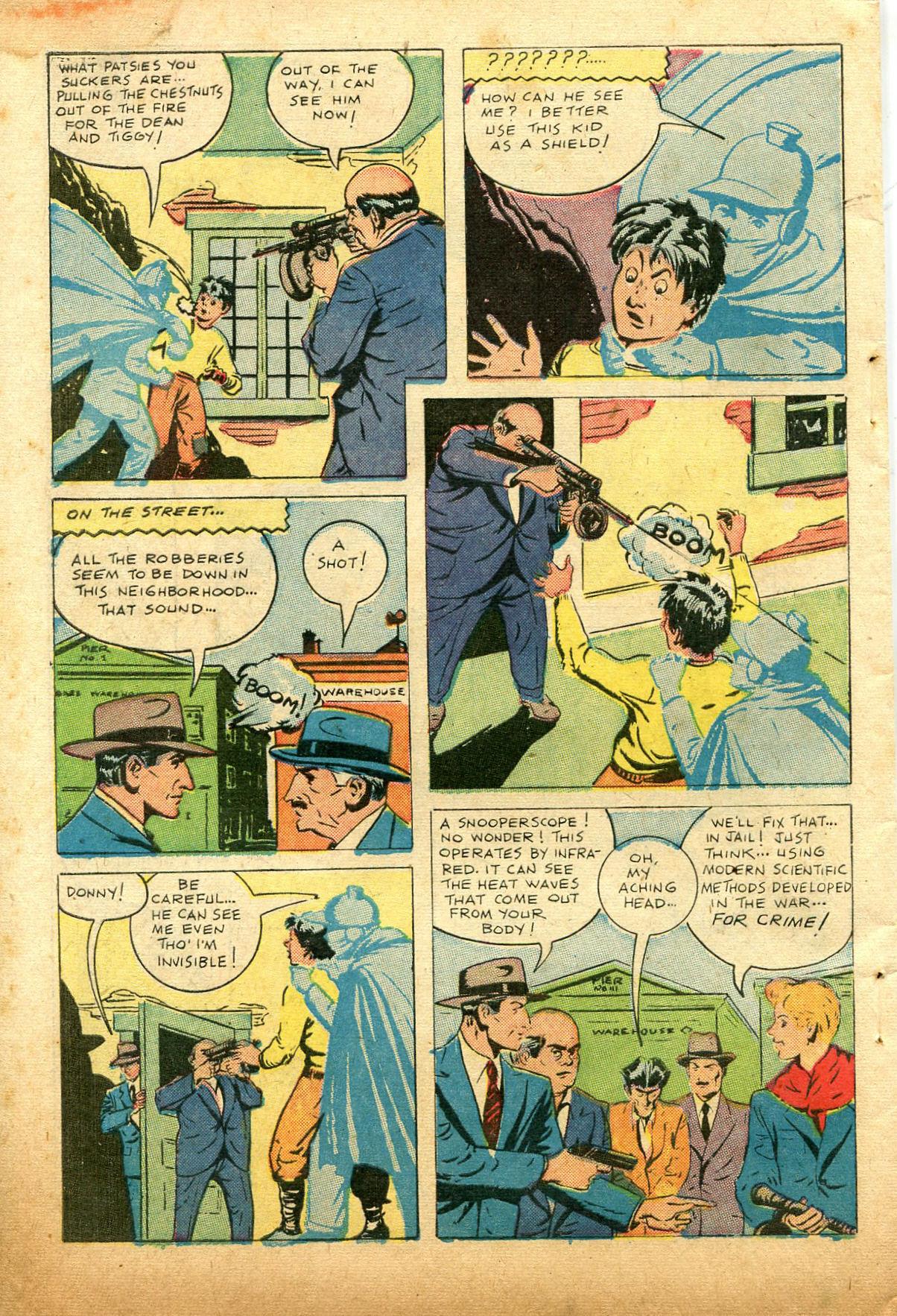 Read online Shadow Comics comic -  Issue #74 - 50