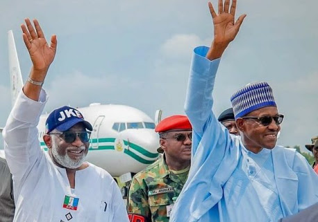 President Buhari Arrives Ekiti For APC Mega Rally (Photos)