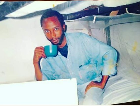 Throw-Back Picture of Senator Shehu Sani While Awaiting Trial at Kiri Kiri Maximu Prison