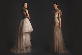 vestido de noiva curto na frente é lindo