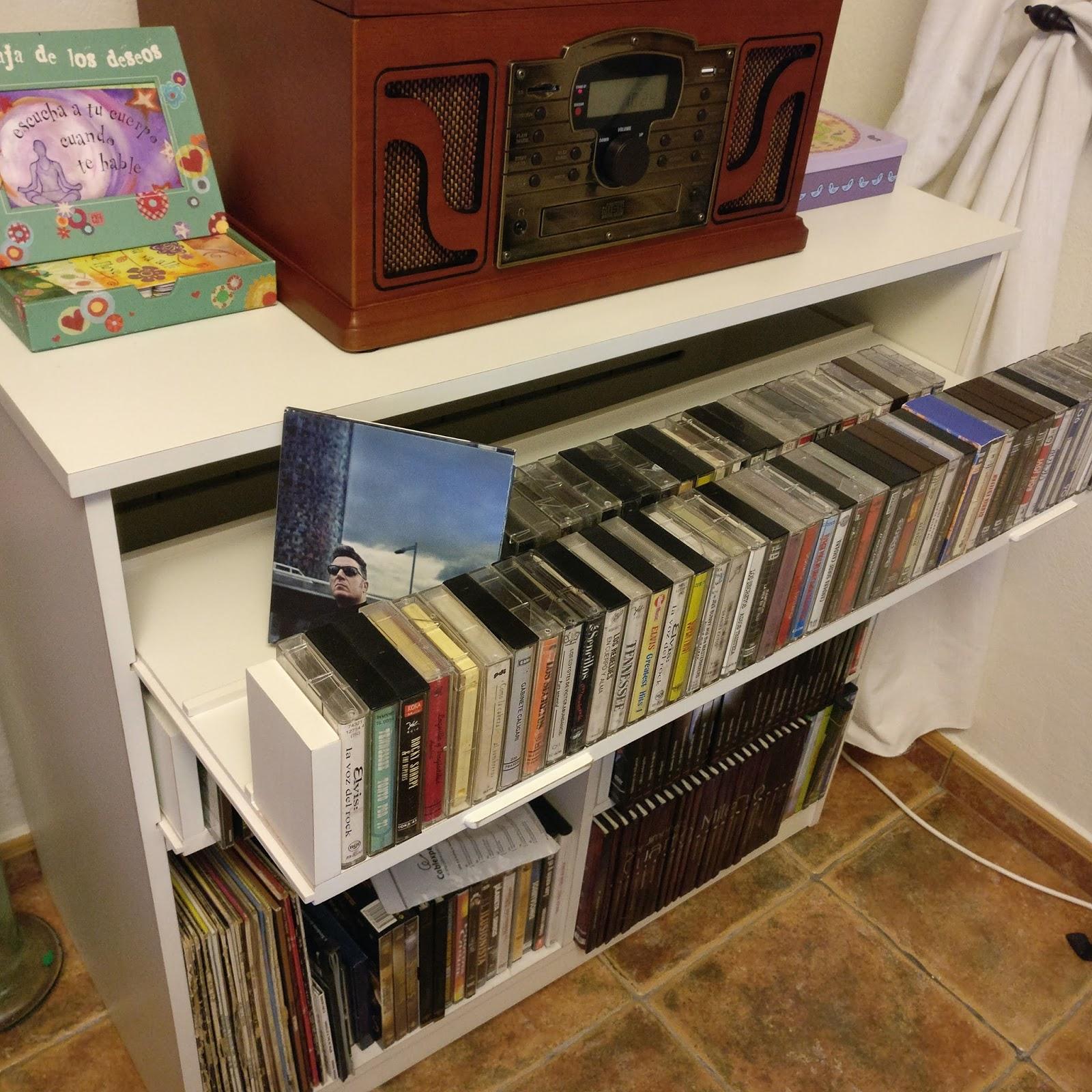 El rincon del mueble mueble para vinilos cd cassete y dvd - Mueble para vinilos ...