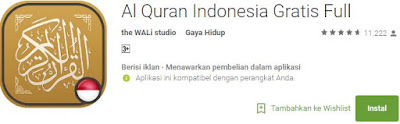 Al Quran Indonesia Gratis Full