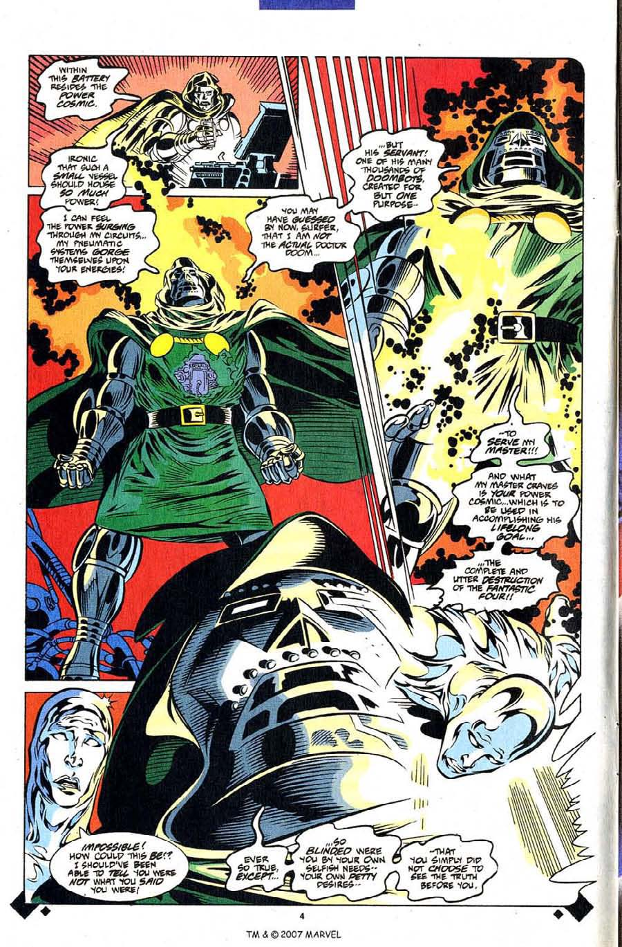 Read online Silver Surfer (1987) comic -  Issue #107 - 6