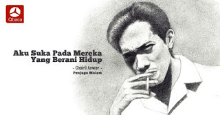 Puisi Chairil Anwar : Mirat Muda, Chairil Muda