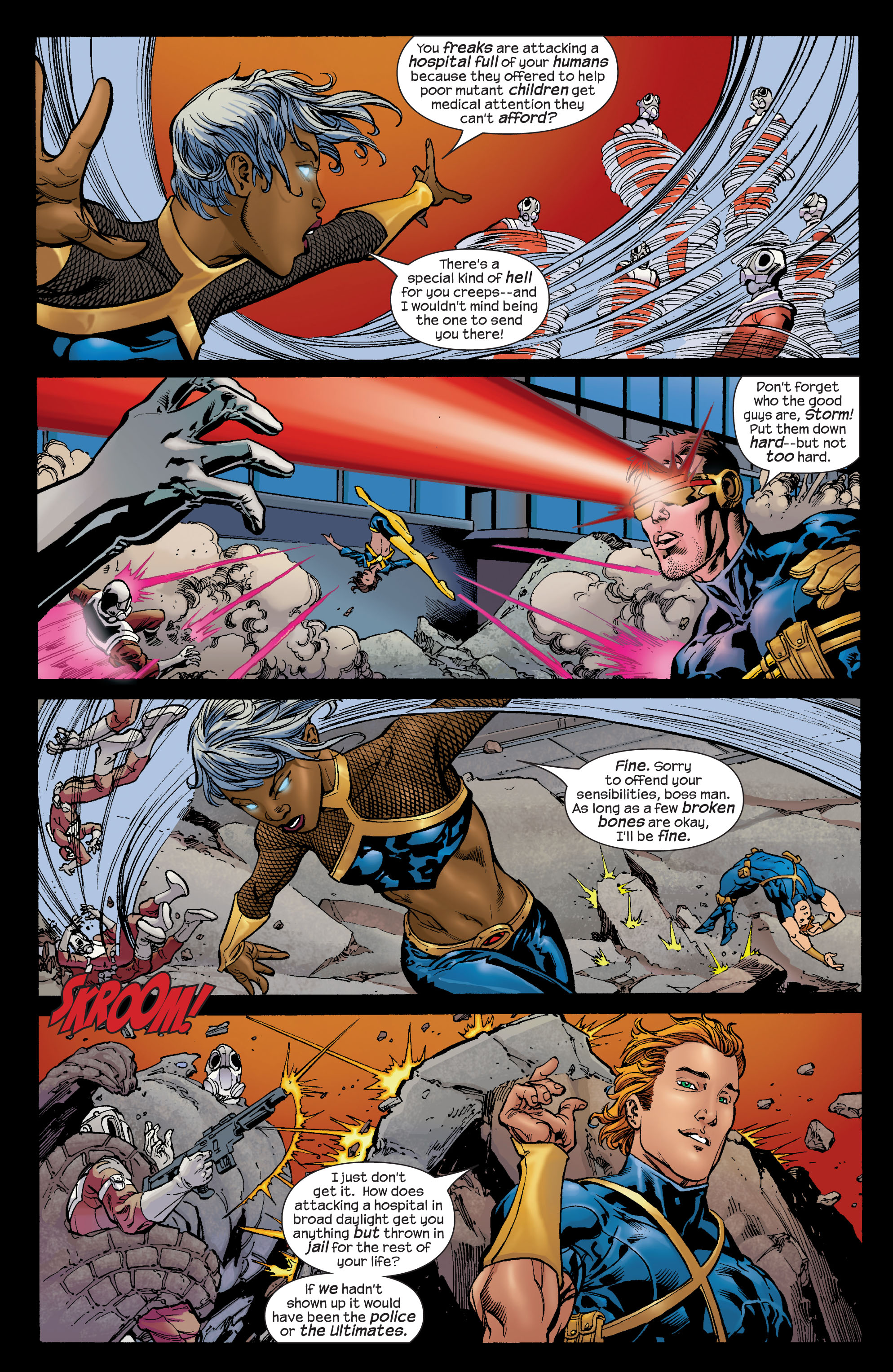Read online Ultimate X-Men comic -  Issue #72 - 7