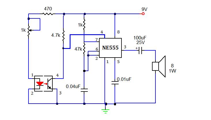 11 Pin Timer Wiring Diagram Smoke Detector Using 555 Timer Mycircuits9