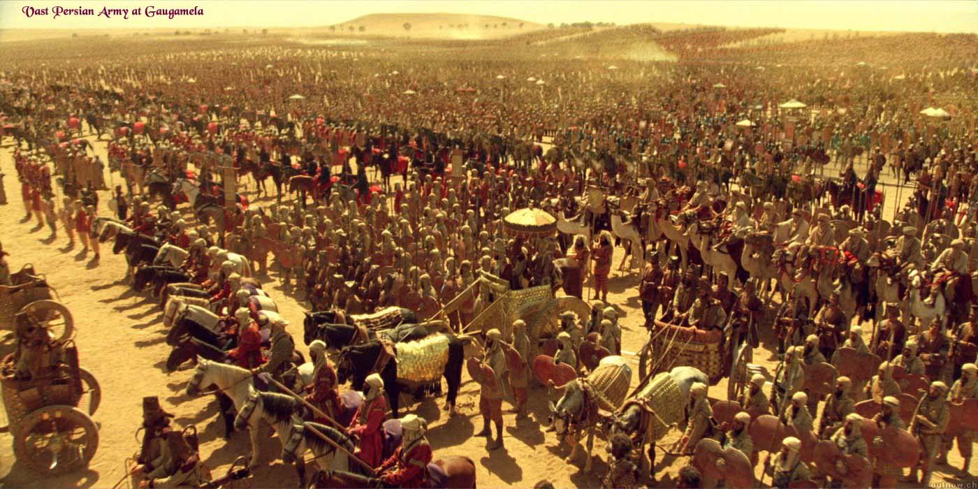 megas alexandros the battle of gaugamela