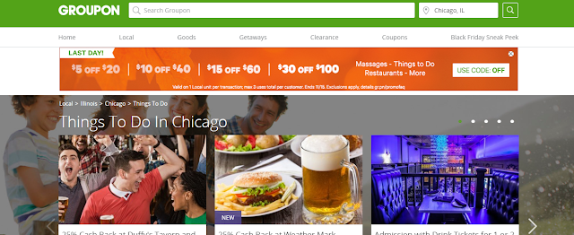 Groupon Things To Do Chicago Screen