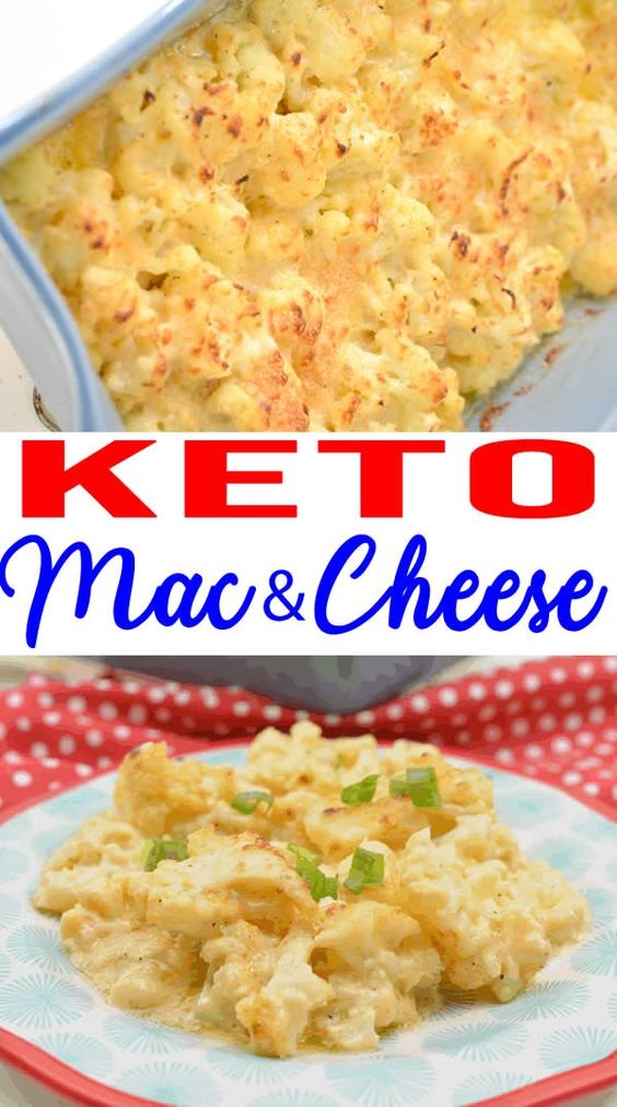 Easy Keto Cauliflower Mac And Cheese! Low Carb Mac & Cheese Idea